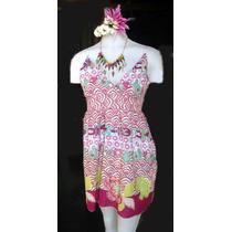 Vestido/solero Playero 100%algodón,venta Por Mayor:pack X 4