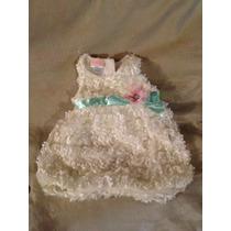 Vestido Para Nena De 0a3 & 3a6 Meses Importado De Usa