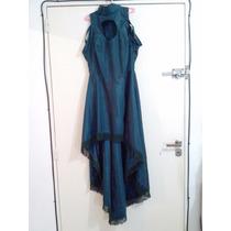 Vestido Fiesta Con Falda Desigual