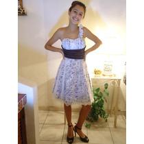 Precioso Vestido De Fiesta Con Un Bretel !!!!
