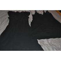 Vestido De Coctel Hasta La Rodilla Talle Small, Dos En Uno
