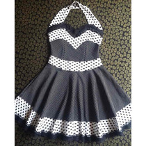 Vestido Pin Up Infamy Sailor By Priscila Rock!
