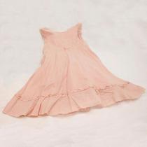 Vestido De Algodón Marca Mimo Color Rosa Talle 3 Bb