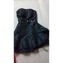 Vestido De Fiesta Negro Talle L