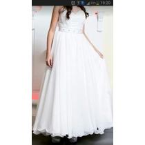 Vestido De Quince O De Novia Desmontable.impecable!!!!