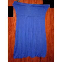 Vestido Globo Azul De Modal Estilo Ay Not Complot