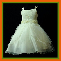 Espectacular Vestido De Fiesta O Para Cortejo T. 2-3-4-5-6