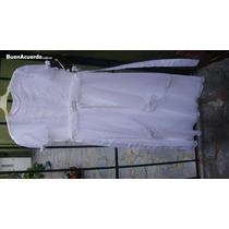 Vestido Comunion Blanco Impecable