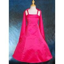 Vestido De Fiesta Para Niñas Talles 9-10-11-12