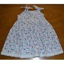 Vestido Junior Musculosa Crochet T 4-14 Años Little Treasure