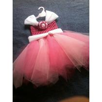 Vestido Tejido A Crochet Para Niña De Fiesta Princesa