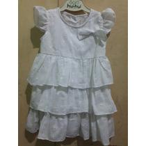 Vestido Beba Vestir En Broderie Ideal Bautismo, Primer Añito