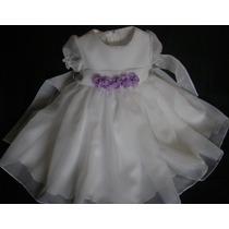 Vestido Bautismo Beba Primer Añito