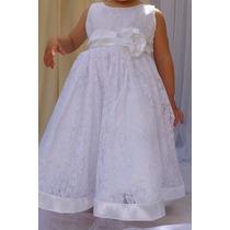 Vestido De Bautismo Nena