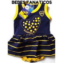 Vestido Boca Beba * Body Nena Bebe * Enterito Camiseta River