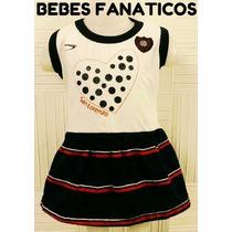 Vestido San Lorenzo * Oficial Bebe* Body Camiseta.river Boca
