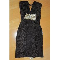Original Vestido Retro 80´s Terciopelo Spandex Brillante