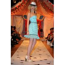 Finisimo Y Delicado Vestido Las Oreiro - Últimos En Talle 3
