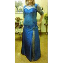 Vestido Fiesta Madrina Realizado Diseño Fabricio Kozlowski