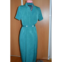 Vestido Señora Importado Seda Lavada Nuevo
