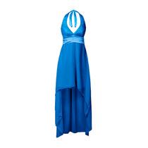 Vestido Irregular De Fiesta, Escote Marilyn, Brishka, V-0006