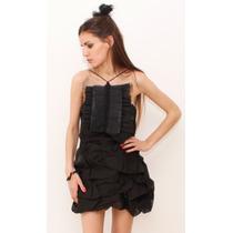 Must Have! Vestido Organza - Viuda Negra - Diseño De Autor