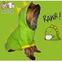 Disfraz Dinosaurio/ Ropa Para Perros/ Talle Color