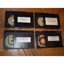 Lote 4 Videocassettes Para Filmadora Betacam Sp