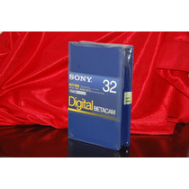 10 Tapes Digital Betacam 32 Nuevos Cerrados Con Estampilla