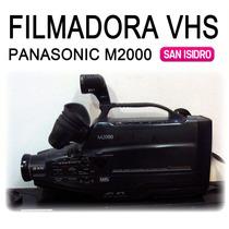 Videocamara Filmadora Vhs Panasonic Mc2000