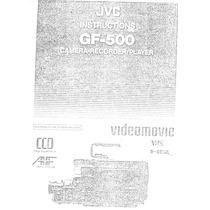 Videocamara Jvc Gf500 Manual En Castellano