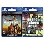 Max Payne 3 + Gta San Andreas Ps3- Digital- Omniplay Store