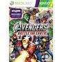 Marvel Avengers Battle For Earth Kinect Xbox Ntsc Nuevo