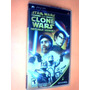 Star Wars The Clone Wars Republic Heroes(8857) Psp- Completo