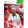 Juego Tenis Clasico Xbox 360 Top Spin 4 Ntsc Español