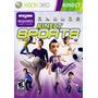 Juego Kinect Sports Xbox 360 Ntsc En Caja