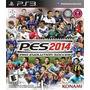 Pes 2014-pro Evolution 2014para Play Station 3 En Castellano