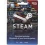 Tarjeta Steam Wallet De 50 Dolares. Para Juegos Steam De Pc.