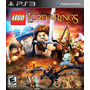 Lego The Lord Of The Rings - Ps3 Código Digital