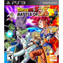 Ps3 - Dragon Ball Z: Battle Of Z - Nuevos Sellados! Español