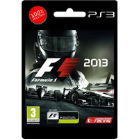 F1 2013 Ps3 - Tarjeta Digital - Online Incluido