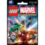 Ps3 Lego Marvel Super Heroes Local Banfield Tarjeta Digital