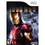 Juego Wii Iron Man Original Perfecto Estado