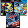 Toy Story 3, Cars 2, Phineas Y Ferb **juegos Ps3** Slot 3en1
