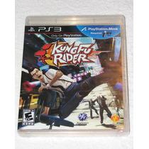 Kungfu Rider - Ps3 Move Nuevo