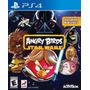 Angry Birds Star Wars Nuevo Ps4 Dakmor Canje/venta