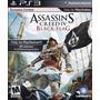 Assassins Creed Iv 4 Black Juego Ps3 Original Fisico Sellado