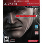 Ps3 Metal Gear Solid 4 Impecable Local Banfield