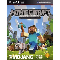 Minecraft Ps3 Digital - Entrega En El Dia!