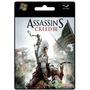 Assassins Creed 3 Iii Juego Pc Original Platinum Microcentro